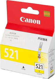 Купить <b>Картридж CANON CLI-521Y</b>, желтый в интернет ...