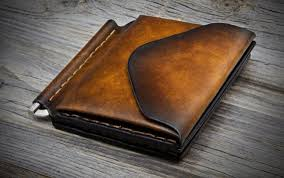Money Clip Leather Wallet with <b>Coin</b> Pocket, Mens Leather Wallet ...