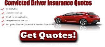 Convicted Driver Insurance - Compare Quotes From Over 120 Companies