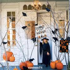 Lawn Party Supplies Double Sided Porch <b>Outdoor Yard Halloween</b> ...