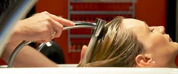 Image result for hair washed in salon