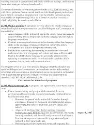 federal register head start performance standards start printed page 61299