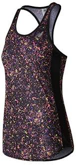 New Balance Womens <b>Printed Accelerate Tank</b>
