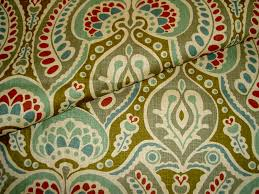 decor linen fabric multiuse: multiuse  linen home decorating fabric pattern nova
