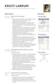senior account manager resume samples   visualcv resume samples    senior account manager resume samples