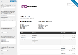 woocommerce print invoices packing lists woocommerce docs woocommerce print invoices packing lists customizer