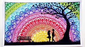 Scenery <b>Mandala Art</b> | Mandala Drawing | #13