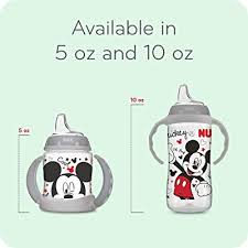 10oz 1pk NUK <b>Disney</b> Large <b>Learner</b> Sippy Cup Mickey Mouse ...