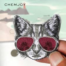 Detail Feedback Questions about <b>Cute Embroidery</b> Patches <b>Cat</b> ...