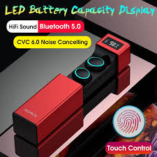 Touch Control <b>Bluetooth 5.0 HIFI Sound</b> Wireless Headphones TWS ...
