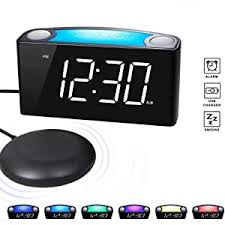 ROCAM Vibrating Loud Alarm Clock with Bed Shaker ... - Amazon.com