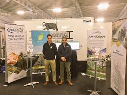 giles barker gilesbarker twitter all set up for live demo s of activsmart today at agri expo ramsak come and see what niabtag and kisanhub have to offer on stand