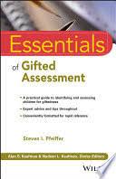 <b>Essentials</b> of Gifted Assessment - <b>Steven</b> I. <b>Pfeiffer</b> - Google Books