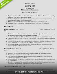 how to write a perfect administrative assistant resume examples administrative assistant resume elizabeth torres