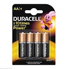<b>Duracell AA</b>, <b>LR6</b> Alkaline <b>Battery</b>: Amazon.in: Electronics