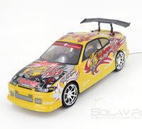 «<b>Радиоуправляемый автомобиль для дрифта</b> Nissan Silvia GT 1 ...