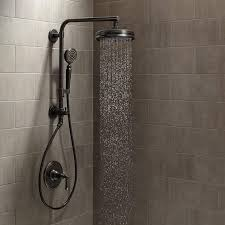 ideas shower systems pinterest: view the kohler artifacts hydrorail custom shower system artifacts hydrorail shower package with single function