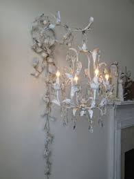 chandelier lighting swag w ornate wall hook french blue cream rusty shabby cottage chic distressed tole light home decor anita spero design chic crystal hanging chandelier furniture hanging