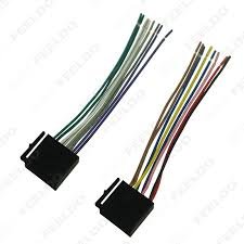 feeldo car accessories 1pcs car audio stereo wiring harness for Stereo Wiring Harness picture of 1pcs car audio stereo wiring harness for volkswagen audi mercedes pluging into stereo wiring harness diagram