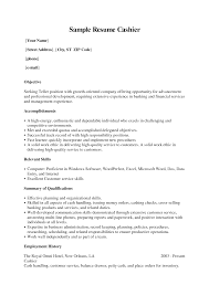 sample resume for cashier sample resume for cashier makemoney alex tk