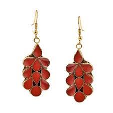 Buy Zephyrr <b>Fashion Jewellery</b> Gold Alloy Earrings Quirky Dangle ...
