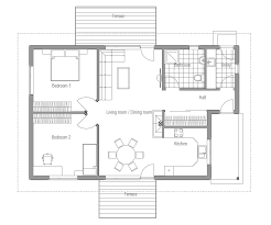 images about Two Bedroom House Plans on Pinterest   Small       images about Two Bedroom House Plans on Pinterest   Small House Plans  Two Bedroom House and Bedroom Small