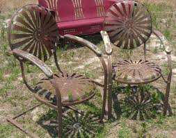 iron patio chairs spring