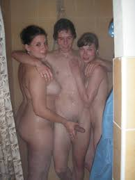 Hot shower party