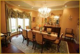 formal dining room presenting vintage chairs