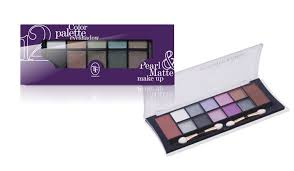 <b>ТЕНИ ДЛЯ ВЕК</b> – <b>TF</b> Color Palette Eyeshadow Pearl & Matte тени ...