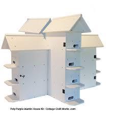 Poly lumber T  purple martin house kit