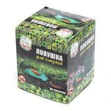 <b>Ловушка для слизней</b> 11*10 см., 2 шт., <b>HELP</b>, картонная коробка ...