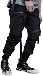 HONIEE 2020 Spring Men's Hiphop Punk Jogger ... - Amazon.com