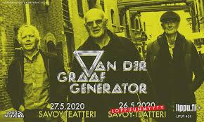 <b>Van Der Graaf Generator</b> – CONCERT RESCHEDULED -> Mon ...