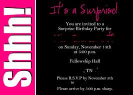 surprise party invitations templates com best images of surprise party printable invitation templates