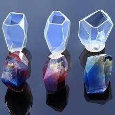Resin crystal mold <b>stone</b> resin molds cabochon mold <b>transparent</b> | Etsy