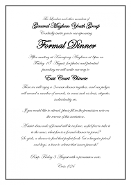 business dinner invitation template ctsfashion com formal invitation card for an event wedding invitation sample