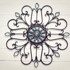 outdoor decor ideas metal wall art medallion