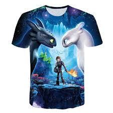 2018 <b>Pocket Toothless T Shirt</b> Men Cute Tops How To Train Your ...
