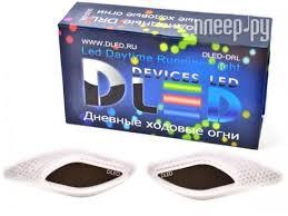<b>Дополнительная фара DLED</b> DRL Tiger Eye - CREE 10W Black ...