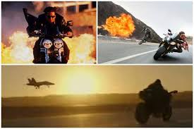Motorcycles Tom Cruise rode as Captain Maverick and Ethan Hunt ...