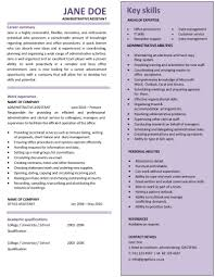 administrative assistant cv template graphical cv administrative assistant cv template administrative assistant cv template 2