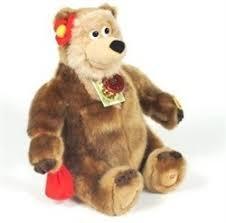 "<b>Мягкая игрушка</b> МЕДВЕДИЦА 27 см, из мультика ""Маша и медведь"""