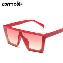 KOTTDO <b>классические квадратные солнцезащитные</b> очки для ...