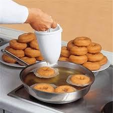 Salver Donut Doughnut Batter Dispenser Home <b>Kitchen DIY Baking</b> ...