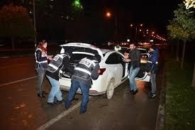 Adana'da 1600 polis ile asayiş uygulaması