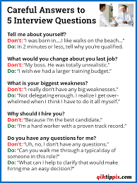 careful answers to 5 interview questions qiktippix answers to interview questions