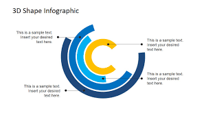 modern d cylindrical  layers powerpoint diagram   slidemodel    powerpoint flat design concentric circles diagram