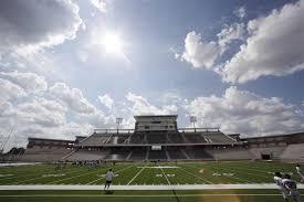 million texas high school stadium deemed unsafe for football image eagle stadium at allen high school in allen texas