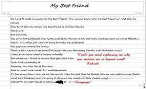 cher essay of my best friend coconnas tu mon sinistre essay of my best friend